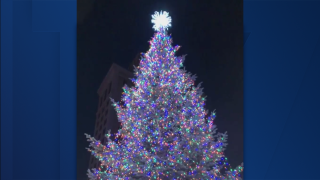 Grand Rapids Christmas tree lighting