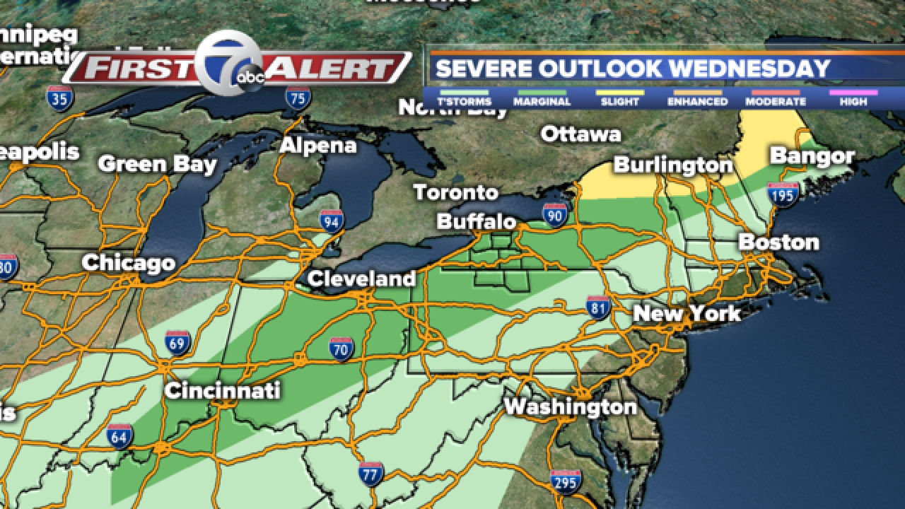 Will storms affect your afternoon commute?