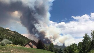 Lake Christine Fire grows in acreage, remains partially contained