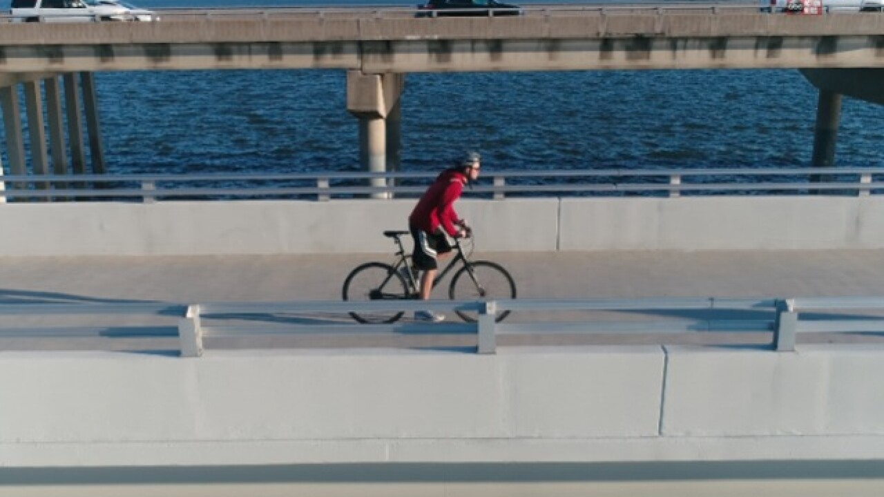 Bike over the Bay from Tampa to Clearwater