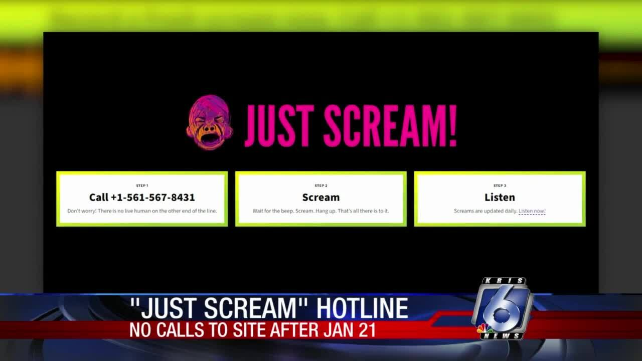 Just Scream! lets you vent