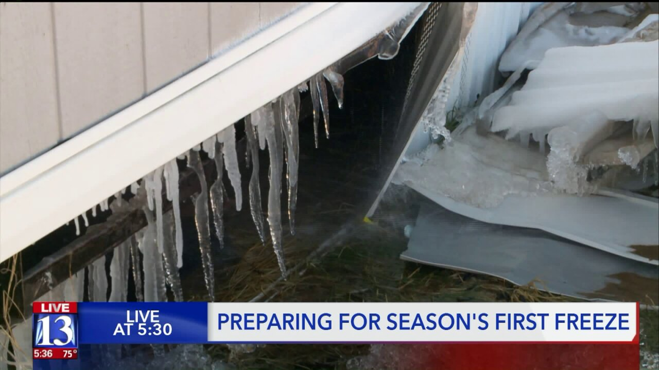 Early freeze means time to winterize your home