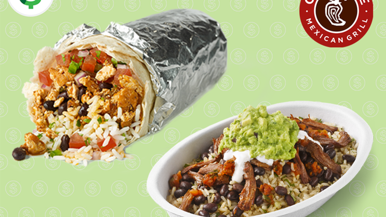 842e76982 How teachers can get a free Chipotle burrito, bowl, salad or tacos on  Tuesday, May 2