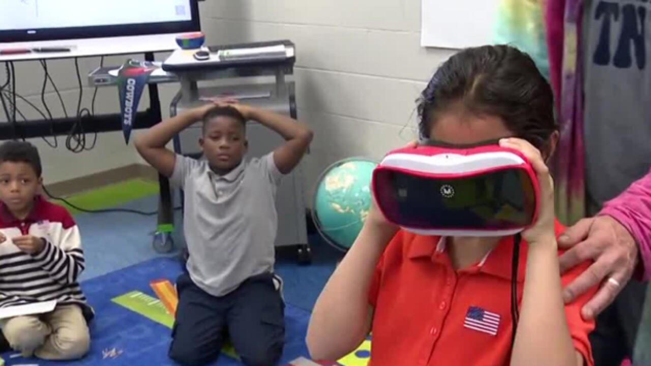 Whitsitt Elementary students learn during Power Mondays