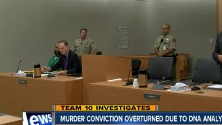Murder conviction overturned due to DNA analysis