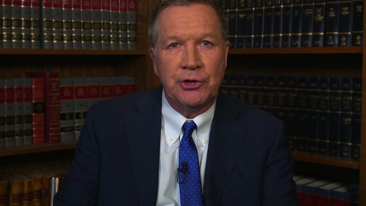 John Kasich to CNN: Independent presidential run 'unlikely'