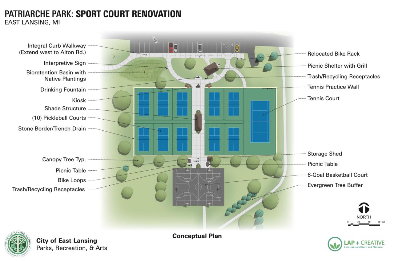 Patriarche Park Sport Court Renovation
