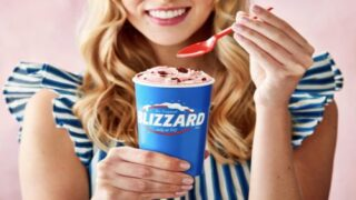 Dairy Queen's February Blizzard Of The Month Is Perfect For Valentine's Day