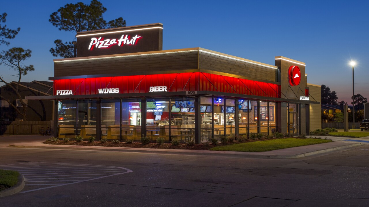 Pizza Hut is closing hundreds of restaurants