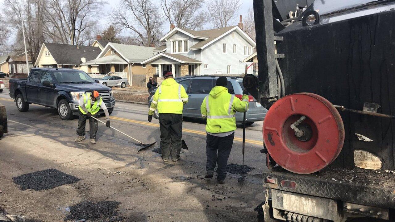 Pothole Patrol: KCMO Seeing 5 Times Number Of Potholes