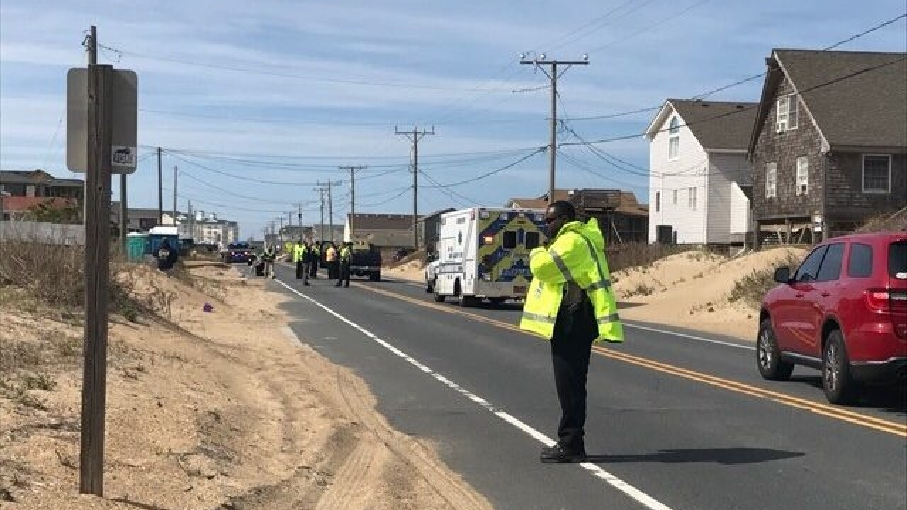 Two pedestrians dead after crash in Kitty Hawk