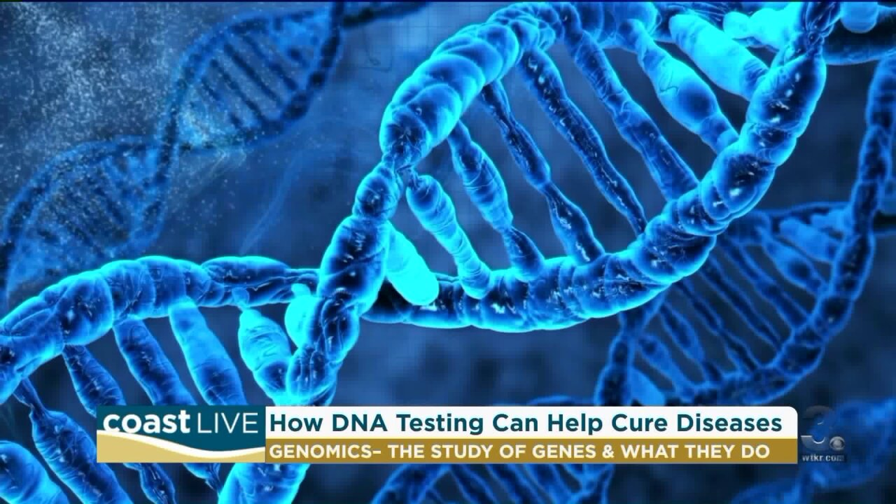 Learning about the power of DNA on Coast Live