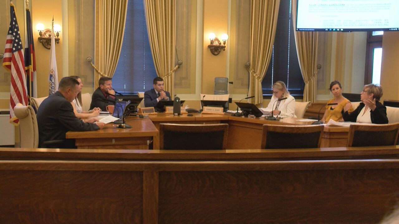 Board of Pueblo County Commissioners meet to discuss updates on 1A financing