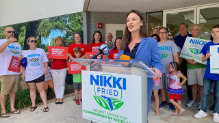 Dem. Nikki Fried claims victory in FL Commissioner of Agriculture race, Rep. Matt Caldwell concedes