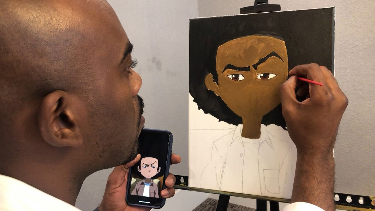 Deon Tynes, South Florida artist