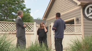 Pam Ruffin speaks with Mart Herrera  and Denver 7's Tom Mustin