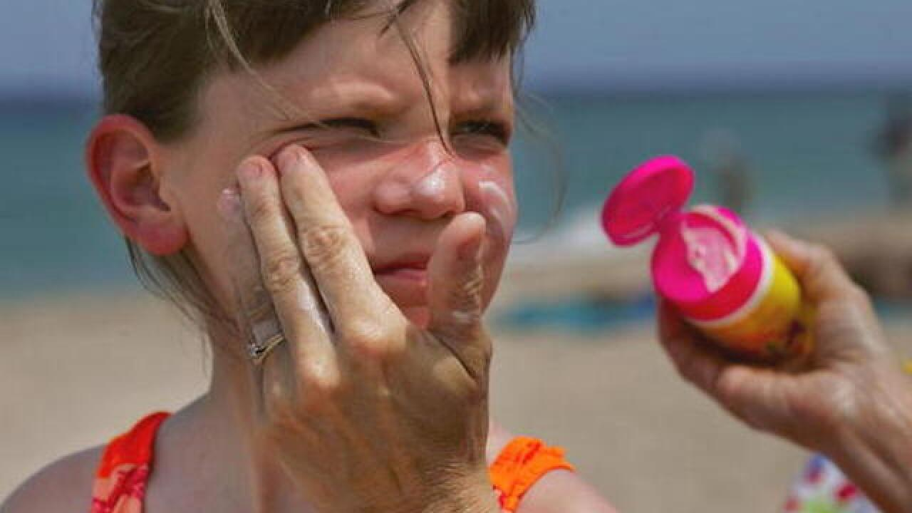 Do kids need a different kind of sunscreen?