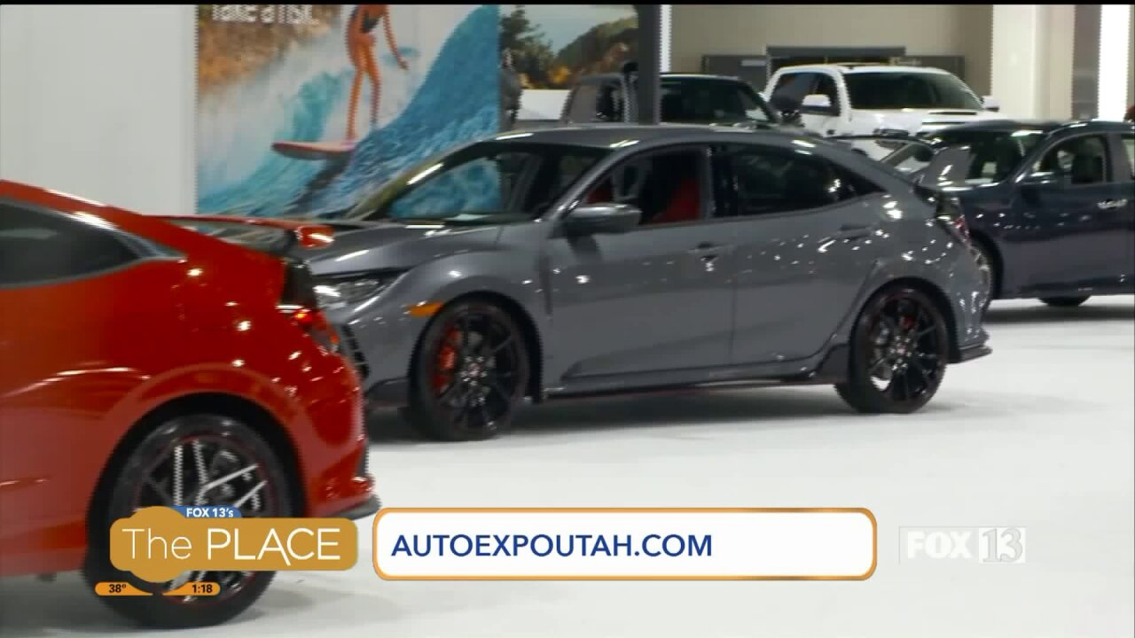 Explore more than 350 new vehicles at the 2019 Utah International Auto Expo
