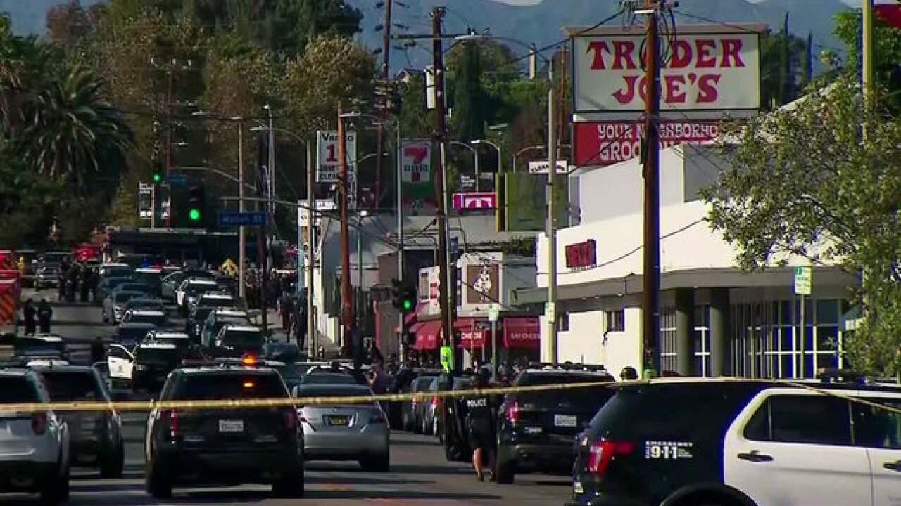 Armed standoff at LA Trader Joe's ends with one store employee dead, wounded suspect in custody