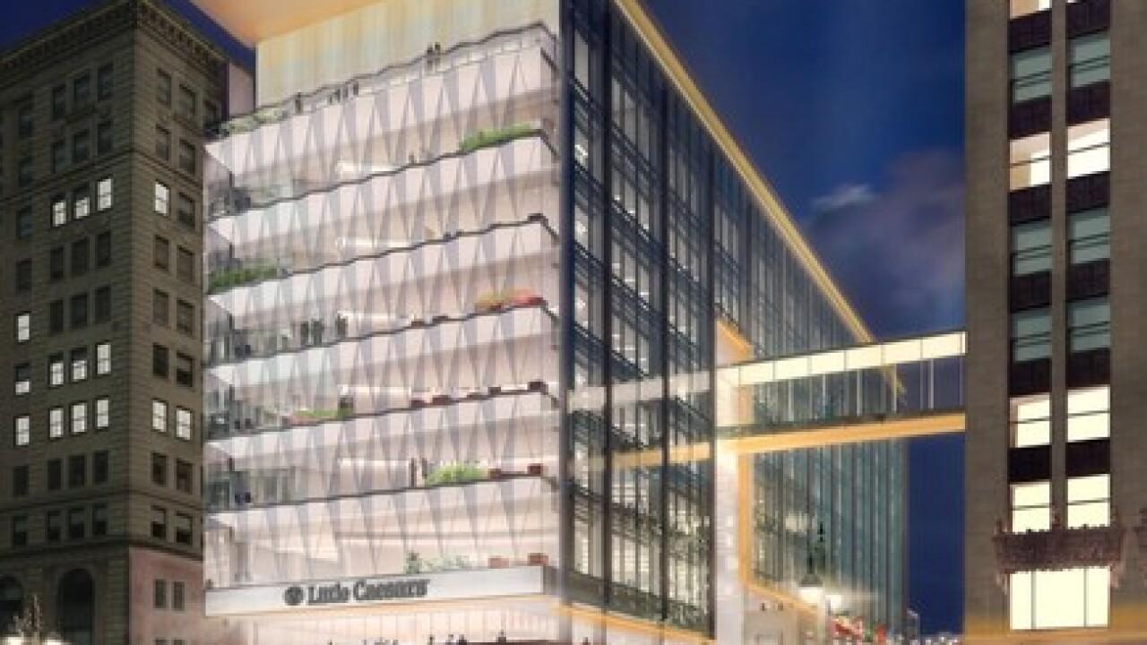New Little Caesars building design revealed