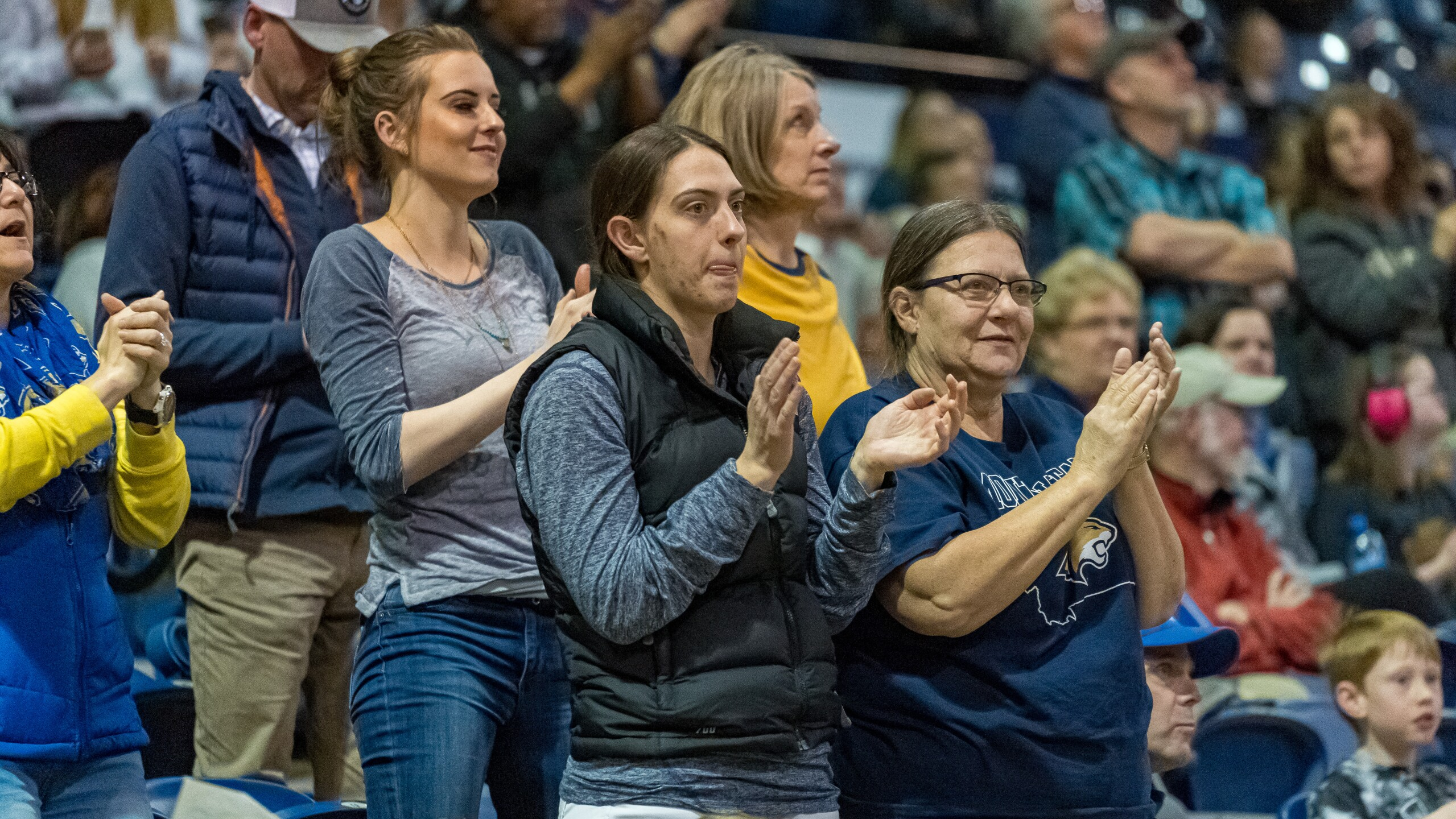 Montana State Bobcats basketball fans