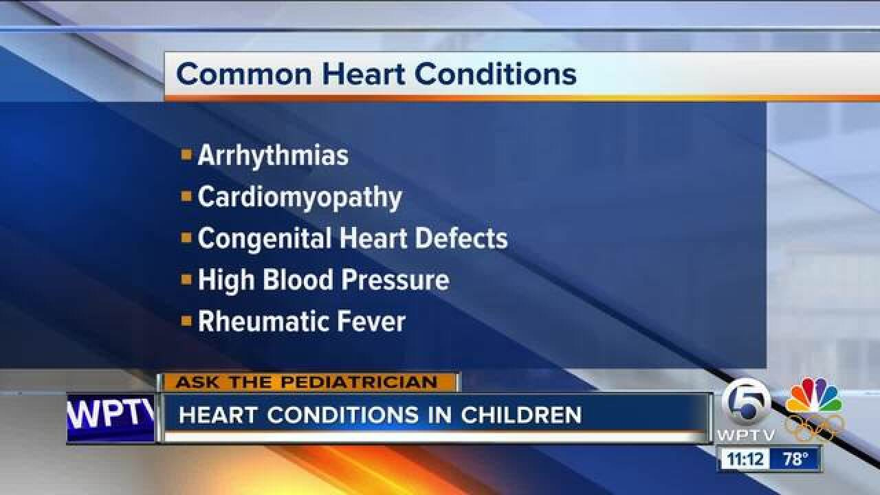 Heart conditions can impact children