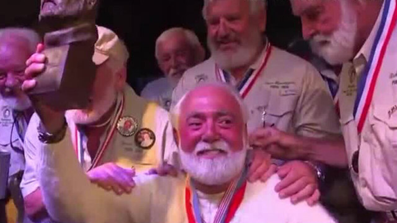 Husband of celebrity chef Paula Deen wins Hemingway contest
