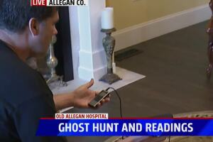 Ghost hunt and readings