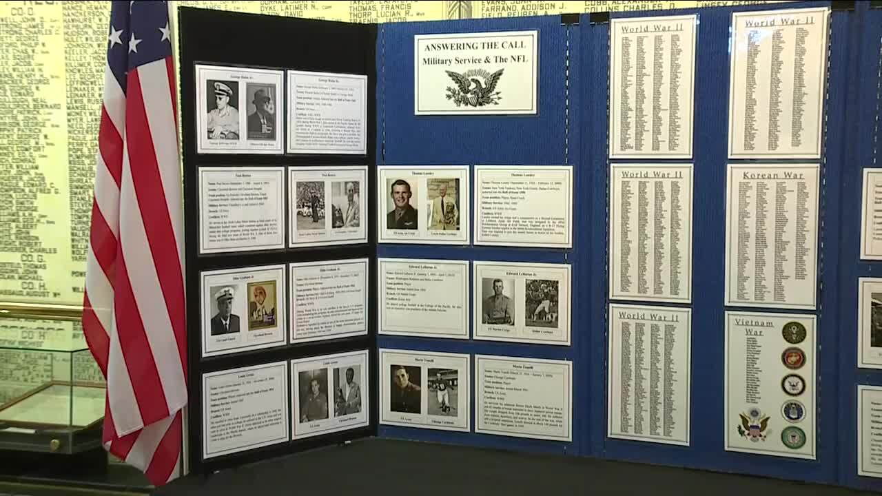 Cleveland's Soldiers and Sailors Monument launches NFL exhibit for draft weekend