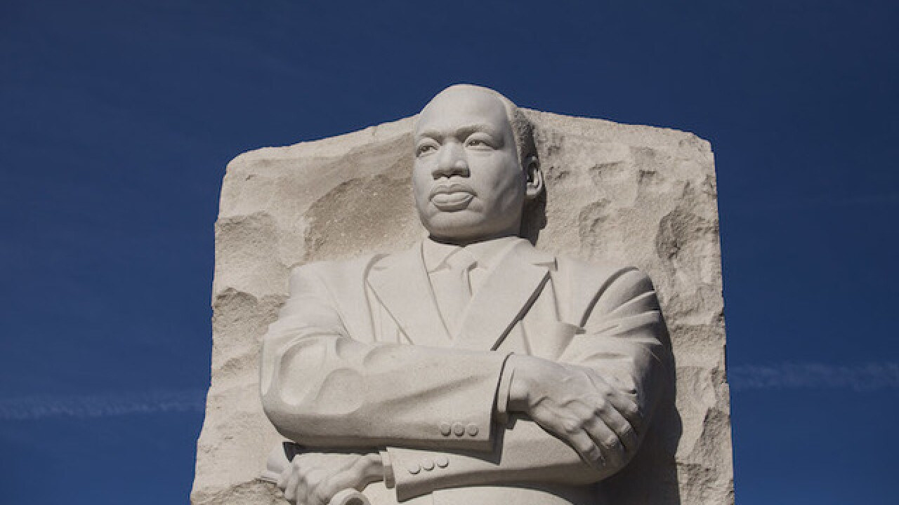 The Martin Luther King Jr Holiday Scholarship Committees Morehouse  The Martin Luther King Jr Holiday Scholarship Committees  Morehousespelman Essay Contest What Is A Thesis Statement In An Essay also Modern Science Essay  Thesis Statements Examples For Argumentative Essays