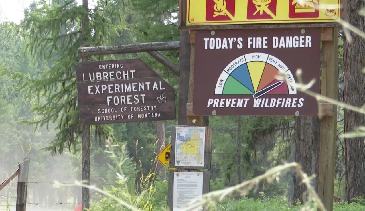 Garnet Fire Danger