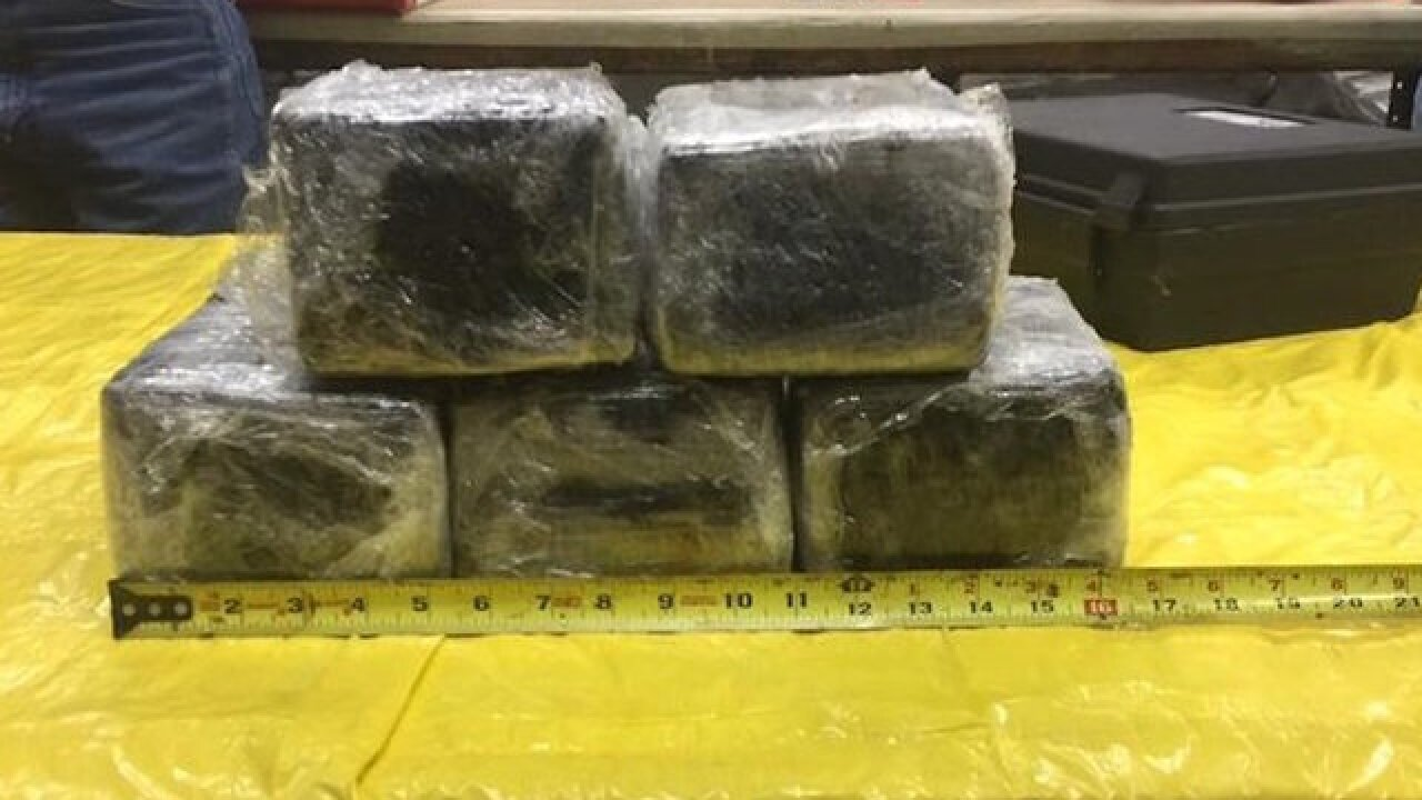 Cocaine stash found in American Airlines plane's nose