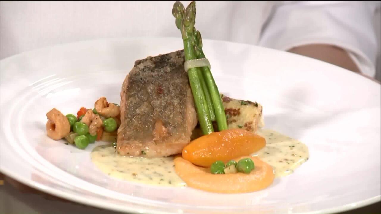 Champion Student Chef Demonstrates WinningRecipe