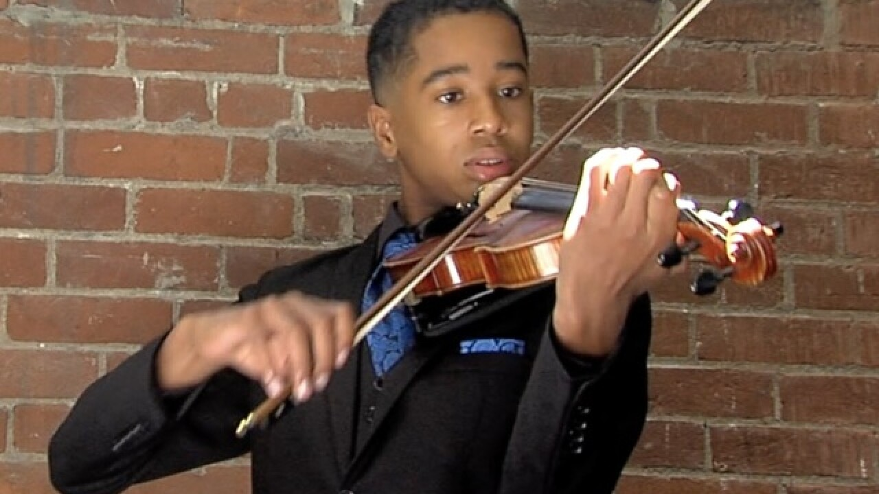 Violin skills take local teen across the country