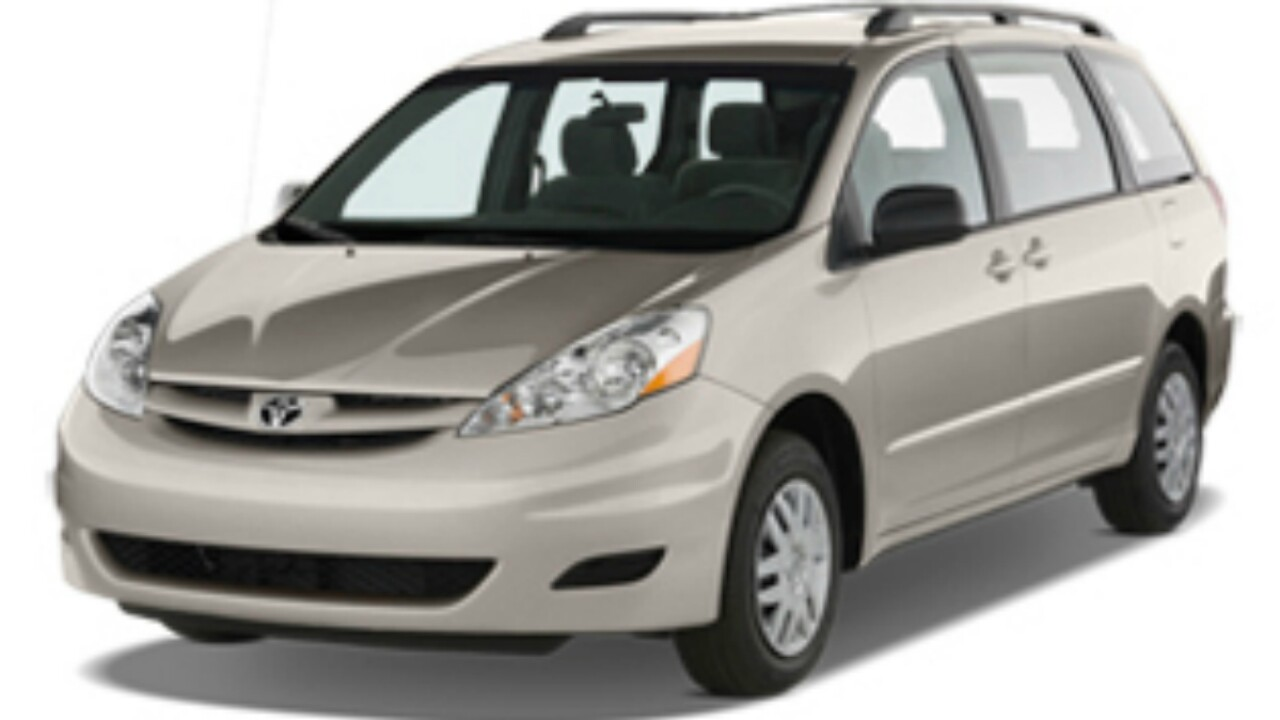 Toyota is recalling 370,000 Sienna minivans