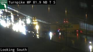 Crash on Florida's Turnpike