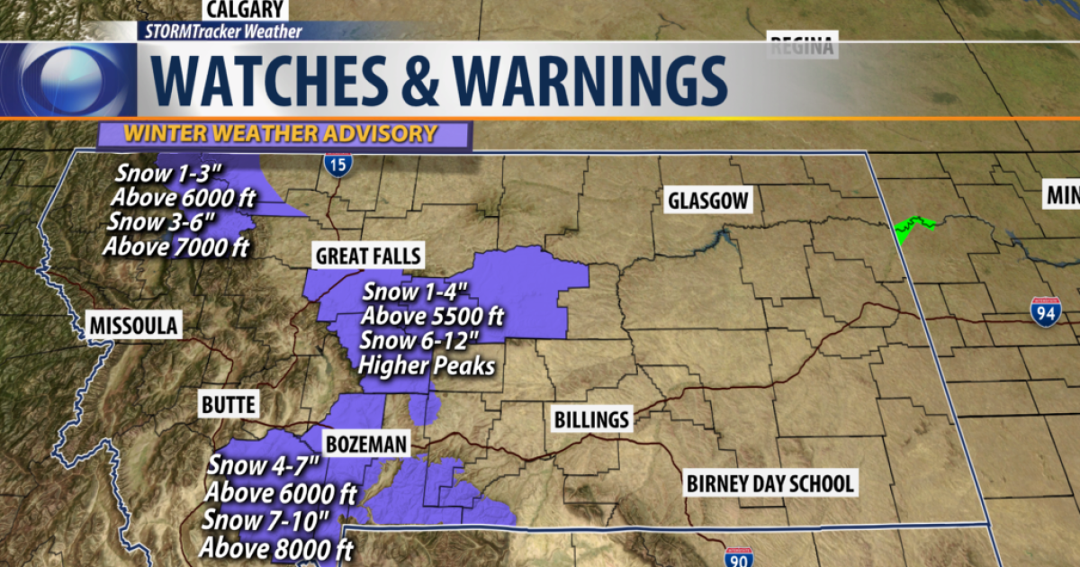 Q2 Weather: We truly are in the clash of seasons in Montana
