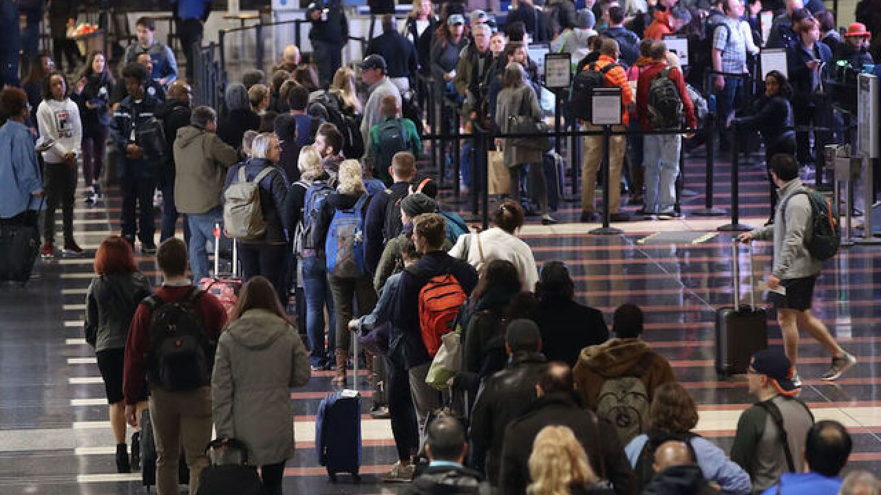 Air travel crowds for Thanksgiving will be unprecedented, officials warn