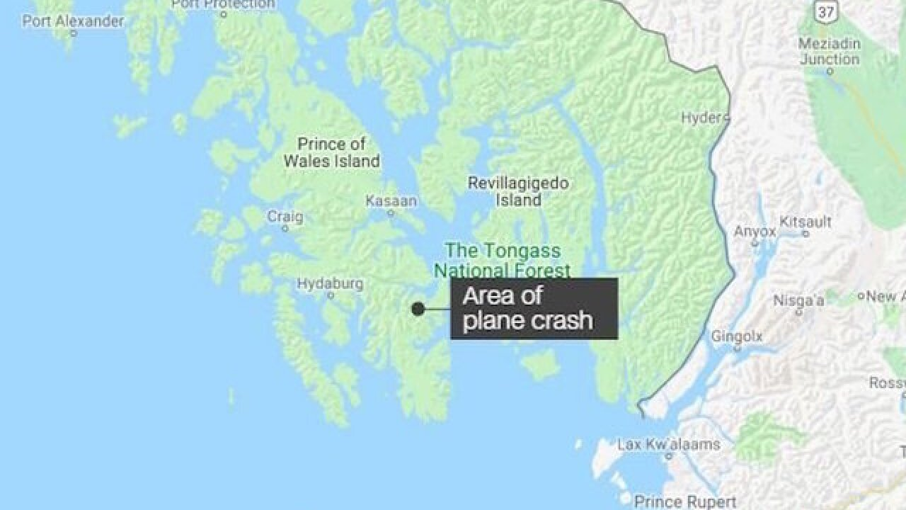Plane carrying 11 crashes in Alaska; injuries reported