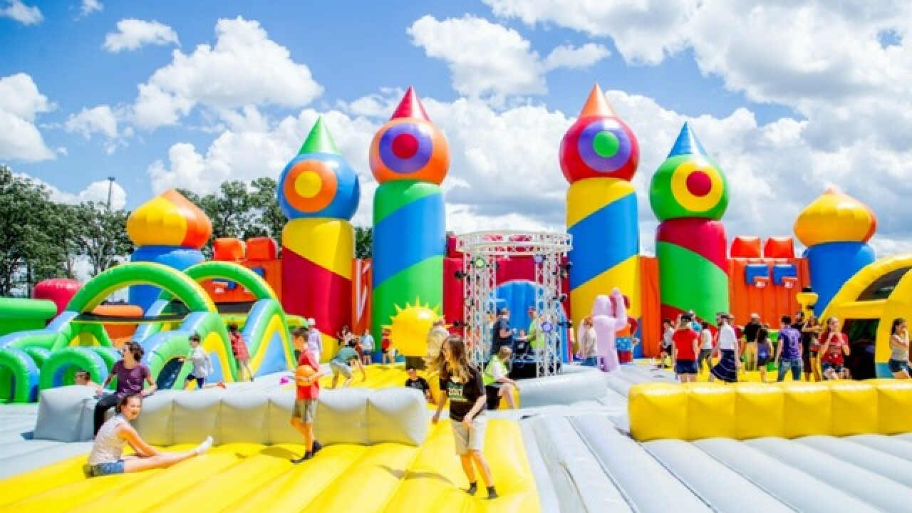 'World's biggest' bounce house coming to Rawhide in October
