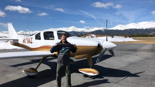 Colorado native Kent Holsinger recently broke the world record for the fastest flight from the highest airport in North America to the lowest.