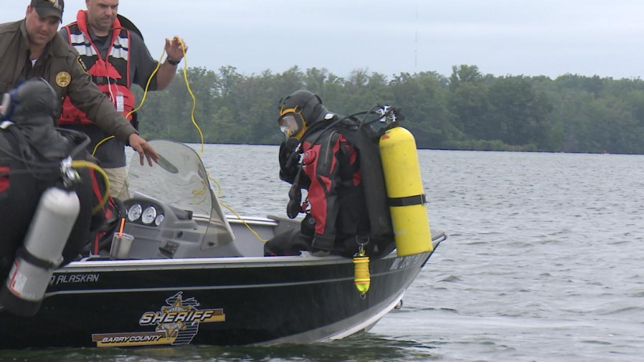 Southwest Michigan Regional Dive Team Training