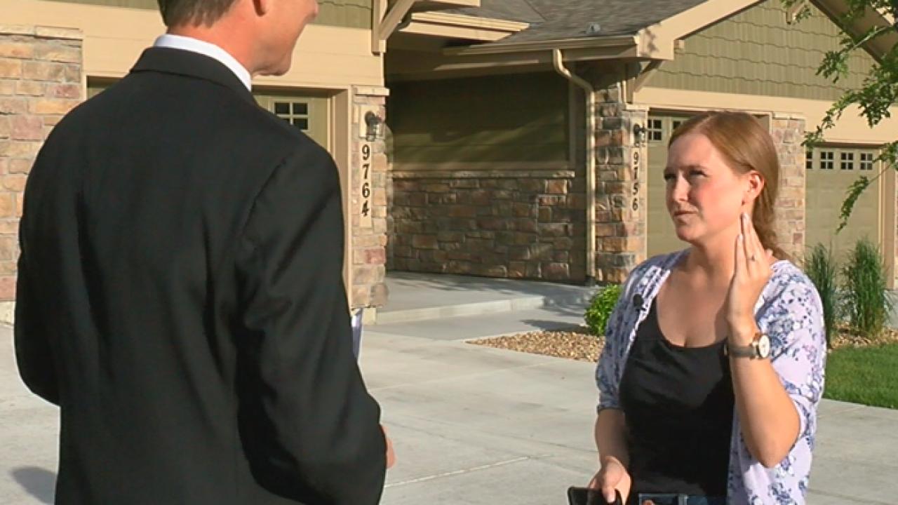 Kacie Sanford Talks to Denver 7's Tom Mustin
