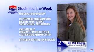 Student of the Week: Melanie Benson