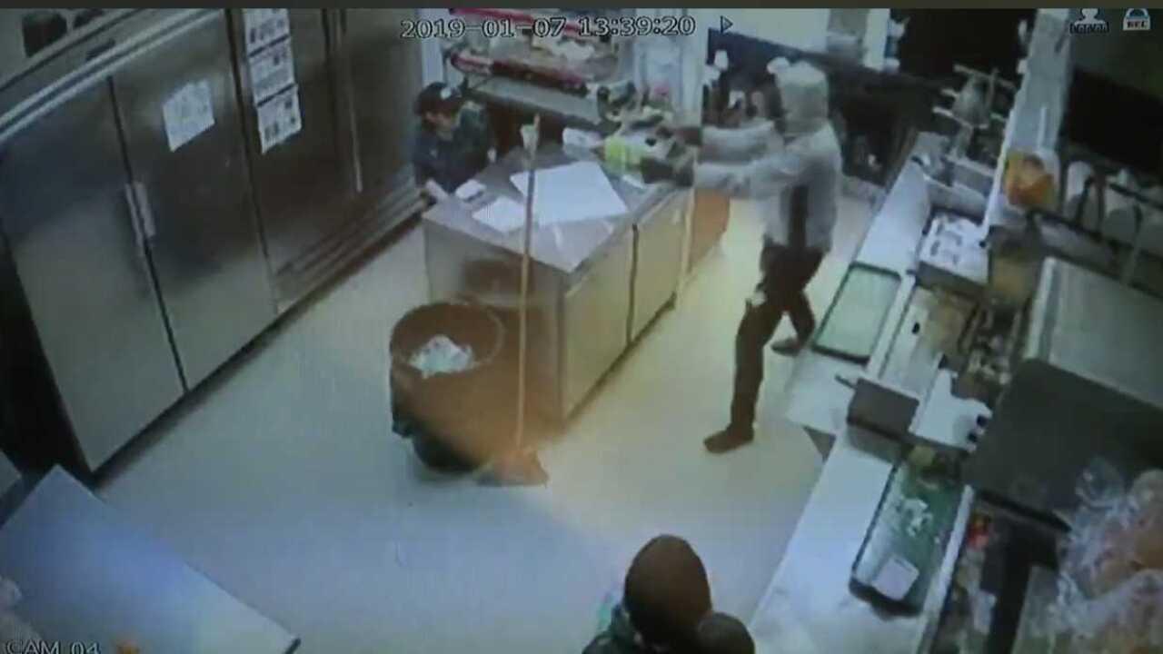 Mr. Hero robbery