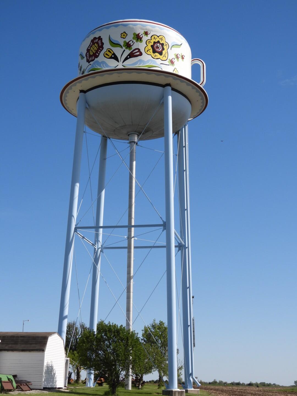 Stanton water tower