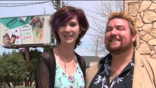 Helena man wears his heart on his sleeve - and proposes on a giant billboard