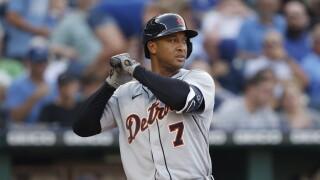 Jonathan Schoop Tigers Royals Baseball