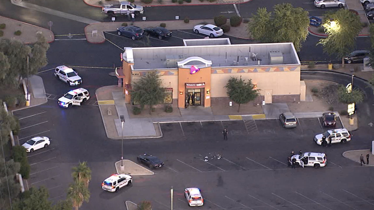 Shooting at Taco Bell in Glendale 11-4-19