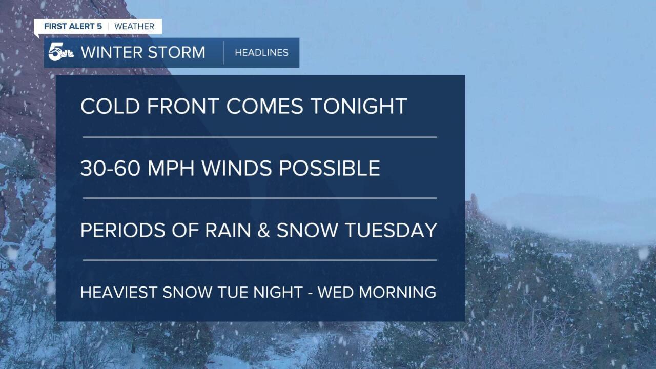 Winter Storm Headlines